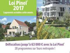 Appartement neuf Tours actable loi Pinel 2017!